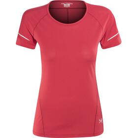 Arc'teryx Motus T-shirt Col ras-du-cou Femme, radicchio